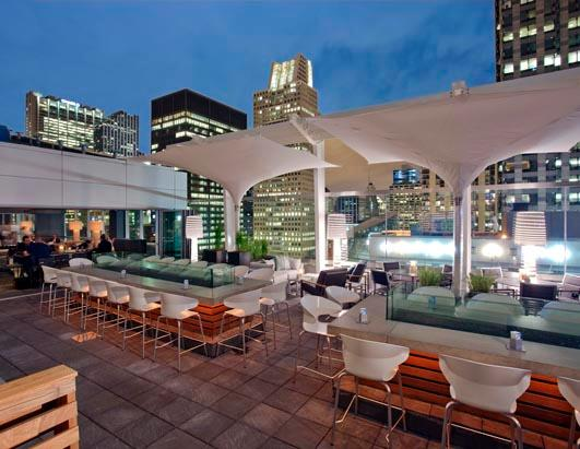 and - Rooftop Patio